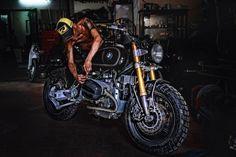 Bmw r1100r date1998 mod garage tự thanh đa