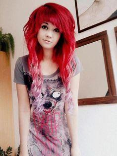 emo hair | Tumblr