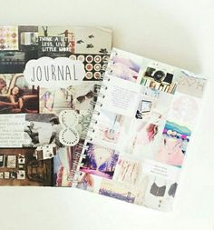 journal and notebook image via weheartit