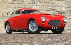 I'll be damned, they actually used to make good-looking cars...1953 Fiat 8V (via sportscardigest.com)