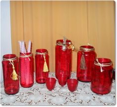 Vidros pintados e bate papo Coca Cola, Beverages, Diy, Canning, Bottle, Home Decor, Dollar Store Decorating, Conversation Exchange, Recycling