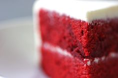 This week's red velvet cake is not the first one I've made. I've tried several recipes in the past and wanted to try a new one this week, but I knew what I was looking for and luckily found something close in the The Lee Bros. Southern Cookbook (I've made a few edits of my ...