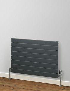 The elegant slat steel tubes make this design a great choice for many property types. Horizontal Designer Radiators, Panel Radiators, Living Room Goals, Steel Panels, Kitchen Design, Interior Design, Elegant, Bedroom, Modern