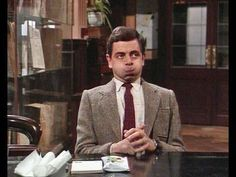 Mr. Bean goes to the library!
