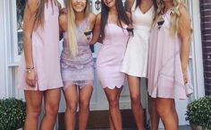 Rush week can be an intimidating process! But knowing how to dress beforehand can really help. Here's a guide on what to wear for UTK sorority Recruitment! Sorority Recruitment Dresses, Sorority Recruitment Outfits, Sorority Canvas, Sorority Paddles, Sorority Crafts, Sorority Life, Day Dresses, Nice Dresses, Rush Week