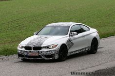 Production F82 M4 coupe spied