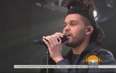 The Weeknd performs #EarnedIt on The Today Show #TheWeekndTODAY