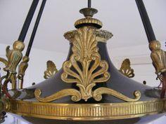 Gr.Jugendstil Deckenlampe Lampe