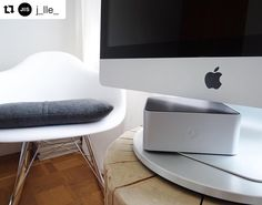 Our BassJump is the most amazing product that will change the way you listen to music on your computer. #Repost @j_lle_  The #BassJump is a portable subwoofer that turns your MacBook/ iMac speakers into mobile studio monitors.  || #design #mac #macbook #minimalism #vibes #technology