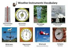 Weather Instruments Printable Worksheets Learn Weather