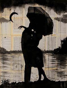 Чернильные рисунки от Loui Jover