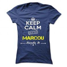 cool Its a MARCOU shirt Thing. Buy This Check more at http://teeshirthome.com/its-a-marcou-shirt-thing-buy-this.html