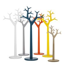 The Tree Coat Stand from Swedese is available in two sizes and has a round podium which is steel weighted to give extra sturdiness.