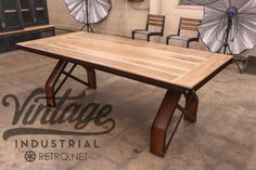 Rouille Table | Vintage Industrial Furniture