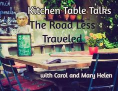 Is there a poem that resonates with your retirement? Does being a Retiree Rebel mean you're taking The Road Less Traveled? Mary Helen and Carol find they are being drawn to poetry now that age and experience puts greater meaning behind the words, and they bring that appreciation to this Kitchen Table Talk. http://www.retireerebels.com/road-less-traveled/