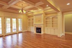 MJR Homes Custom Family Room