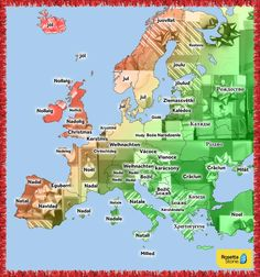 Τα Χριστούγεννα σε όλες τις Ευρωπαϊκές γλώσσες και μη..