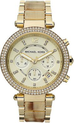 Michael Kors - 'Parker' Chronograph Watch -  $250.00 - Click on the image to shop now