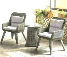 Small Patio Table and Chairs . 20 Of the Best Ideas for Small Patio Table and Chairs . Small Patio Table and Chair Setssmall Set Sets Setca White Wicker Patio Furniture, Small Balcony Furniture, Fire Pit Furniture, Lounge Furniture, Outdoor Furniture Sets, Furniture Ideas, Rattan Chairs, Porch Furniture, Furniture Layout