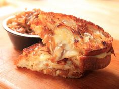 French Melt (Grilled Cheese With Caramelized Onion and Comte)