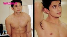 James Reid Shirtless for Cosmo (BTS)