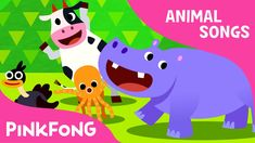 Animal Action | Animal Songs | PINKFONG Songs for Children - YouTube