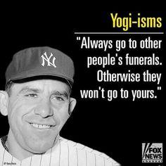 Yogi-isms.