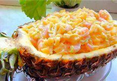 Крабовый салат с ананасами - Подборка кулинарных рецептов крабового