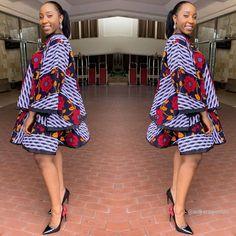 Latest Ankara Styles 2019 For African Ladies To Try Out African Fashion Ankara, Latest African Fashion Dresses, African Print Fashion, Ankara Dress Styles, Latest Ankara Styles, Ankara Blouse, Ankara Skirt, Ankara Gowns, Nigerian Ankara Styles