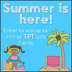Summer Is Here Giveaway!