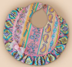 Trendy sewing projects for baby bibs Quilt Baby, Baby Bibs Patterns, Sewing Patterns, Easy Baby Blanket, Bib Pattern, Sewing Basics, Sewing Tips, Sewing Hacks, Sewing Tutorials