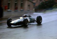 Uno de los mas grandes de la historia, Jim Clark at Spa Francorchamps, 1965