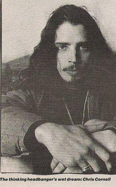 Chris Cornell - love the caption! Soundgarden