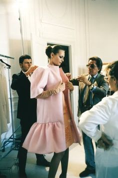 Valentino at work.