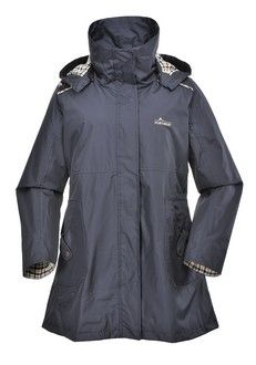 Portwest Ava Mid Length Waterproof Coat The Portwest Ava Jacket is a new design for our Heritage collection Features 100 Polyester Pongee with PU
