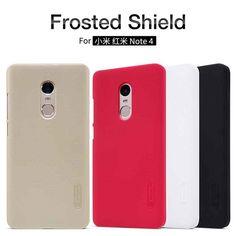 11accd1e6 For Xiaomi Redmi 3 Pro Note 3 Pro Prime case Nillkin Frosted Shield Hard Case  for Redmi Note 4 Pro Prime cover Gift Screen Film