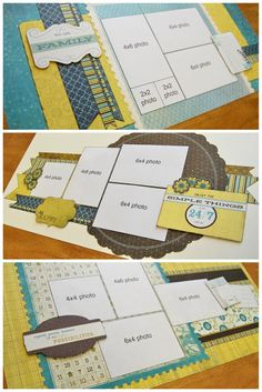 scrapbook generation: New Debbie Sanders kits!