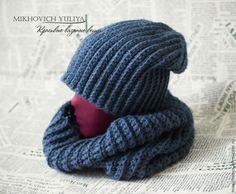 Бини (beanie) - вязанная шапочка свободного кроя - новая аксессуарная тенденция.