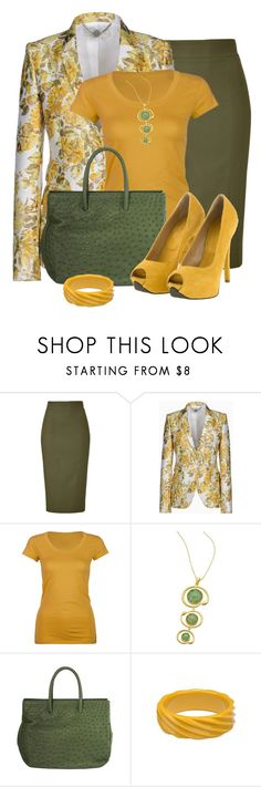 Stella Mccartney Citrus Floral Jacquard Roman Jacket by elenh2005 on Polyvore featuring STELLA McCARTNEY, Active, L'Wren Scott, Flavia Stoian, Adia Kibur and Seraphina