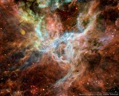 HIGH RESOLUTION TARANTULA NEBULA PICTURE LOADING...