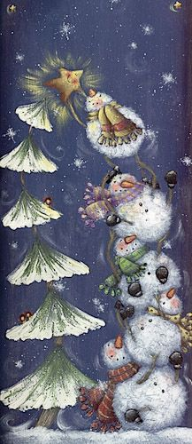 That is the cutest picture and so full of fun! Frosty The Snowmen, Cute Snowman, Snowman Crafts, Christmas Snowman, Winter Christmas, Vintage Christmas, Christmas Ornaments, Merry Christmas, Snowmen Pictures