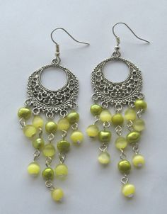 Jaipur Indian earrings by Crimeajewel via crimeajewel. Click on the image to see more!
