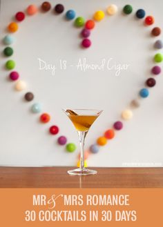 30 Cocktails in 30 Days – Day 18: the Almond Cigar