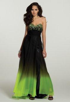 poison ivy inspired dress