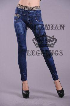 Imitate Jeans Fitness Leggings