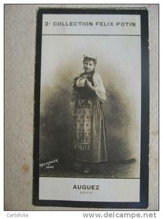 Berthe Bady | 2ème Collection - Photo bromure Reutlinger - FELIX POTIN 1912 - Berthe BADY artiste de théâtre née à Paris