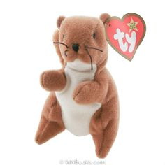 Ty Nuts the Squirrel, Teenie Beanie Babies - Retired [McDonald's 1993]     $5.95