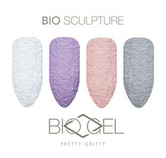 Pretty Gritty is a rough textured gel available in four lovely shades: 238 Sugar Cane ; Gel Manicure, Mani Pedi, Bio Sculpture Gel, Educational Videos, Stylish Nails, Texture, Nail Trends, Nail Tech, Fun Nails