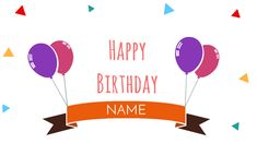 Video Templates - Create animated videos in minutes! Create Animated Gif, How To Make Animations, Play Image, Happy Birthday Name, Business Video, Business Illustration, Online Marketing, Banner, Ads