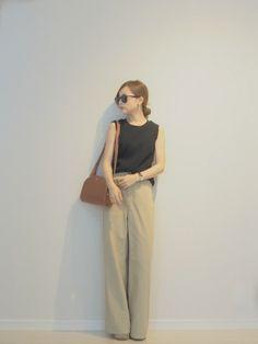 田中亜希子|6(ROKU) BEAUTY&YOUTH UNITED ARROWSのTシャツ・カットソーを使ったコーディネート - WEAR